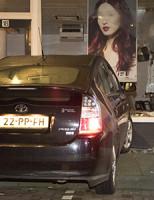 12 februari Auto tegen gevel van kapsalon Lopikplein Den Haag