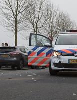 13 februari Agente gewond bij aanrijding Libelsingel Den Haag