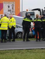 18 februari Aanrijding met politievoertuig Wippolderlaan (N211) Wateringen