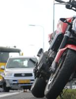 24 februari Motorrijder gewond na aanrijding met auto A4 Den Haag