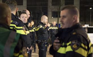 27 februari Massale politie inzet na rellen in centrum Zoetermeer [VIDEO]
