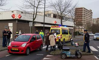 18 januari Aanrijding tussen auto en scootmobiel Vlaardingen