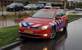 9 december Brandweer rukt uit voor brand in ventilatiekanaal Waldorpstraat Den Haag