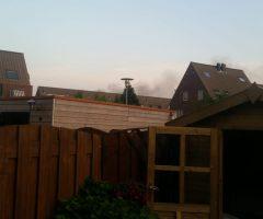 26 mei Weer flinke brand op terrein Renewi Wateringveldseweg Wateringen