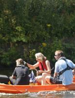 21 juli Zoekactie in de Schie naar Riet van Veldhoven