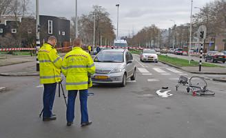 24 januari Onderzoek na aanrijding Loevesteinlaan Den Haag