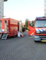 15 november Brand gewoed in elektriciteitsvoorziening World Forum Churchillplein Den Haag