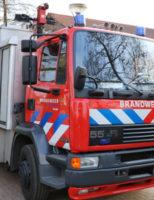 22 maart Brandweer assisteert politie bij aanhouding Jan van Renesseplein Gouda