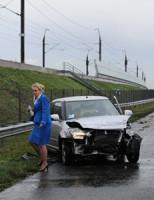 27 december Zware schade na ongeval A4 Hoogmade