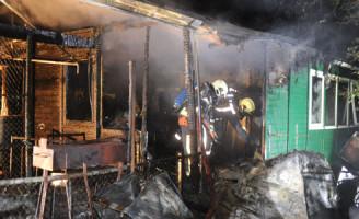 2 augustus Brand verwoest clubgebouw
