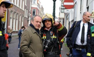 11 maart Flinke voertuigbrand N207 Leimuiden