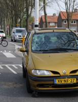 2 april Gewonde bij aanrijding Industrieweg Katwijk
