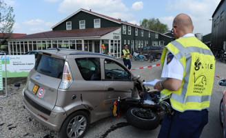 5 april Gewonde na ongeval Nieuwveenseweg Zevenhoven