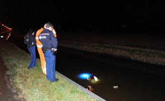 19 januari Motoragent te water Beeklaan De Zilk