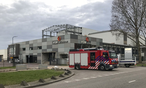 7 april Brand bij HSM Steel Structures ...