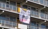 15 september Aanhouding na onrust in flat Bachplein Schiedam