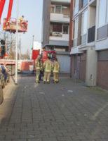 14 februari Brandweer doet onderzoek naar roet in woning Burgermeester van Haarenlaan Schiedam