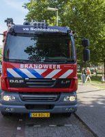 21 juni Brandweer zorgt voor verkoeling Marconistraat Schiedam