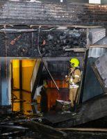 30 december Flinke brand in leegstaand pand Floris de Vijfdelaan