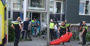 30 mei Arrestatieteam schiet verdachte neer na bedreiging Tempelstraat Schiedam