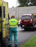 12 september Motorrijder gewond na aanrijding Churchillweg Schiedam