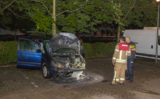 28 augustus Auto in brand gestoken Cornelia van Zantenplein Schiedam
