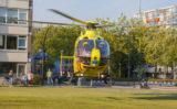 24 september Tweemaal traumahelikopter voor onwel geworden man Laan van Bol'es Schiedam