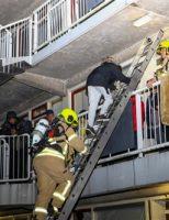 5 december Uitslaande brand na explosie snackbar Parkweg Schiedam