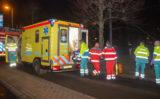 4 december Persoon bekneld onder tram na aanrijding Burgemeester van Haarenlaan Schiedam.
