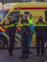 13 februari Hulpdiensten rukken uit voor een onwelwording Anna van Saksenweg Vlaardingen