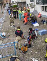 7 april Grote zoekactie naar te water geraakt kind Stadhuiskade Maassluis