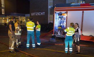 25 mei Flinke brand in verzorgingsflat na harde knal Churchillsingel Vlaardingen