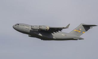 19 maart Amerikaanse luchtmacht op Rotterdam-The Hague airport Rotterdam