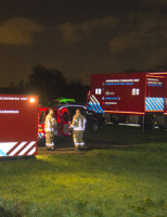 25 december Zeer grote brand in loods Groeneweg Schiedam [VIDEO]