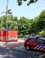 7 augustus Veel rook bij woningbrand Gordonstraat Schiedam