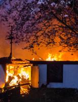 10 april Zeer Grote Brand in pand tussen woningen Rotterdam