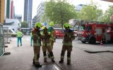 20 juli Grote brand in elektriciteitshuis Hofplein Rotterdam