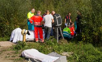 27 september Mountainbiker overleden Broekpolder Vlaardingen
