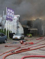 16 juni Zeer grote brand in garagebedrijf Vlambloem Rotterdam