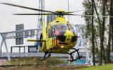 4 oktober Bouwvakker gewond op bouwterrein KFC Schiedamsedijk Vlaardingen