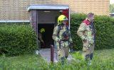 20 mei Flinke brandlucht in kelderruimte flat Jacoba van Beierenstraat Vlaardingen