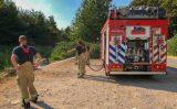 16 juli Brandweer extra alert door droogte Watersportweg Vlaardingen