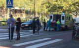 27 september Man in scootmobiel aangereden door auto Nieuwe Haven Schiedam