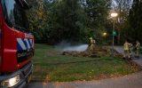 15 oktober Brand in stapel gras Burgemeester Stulemeijerlaan Schiedam