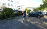 27 september Auto belandt in een struik na aanrijding Molenbaan Capelle aan den IJssel