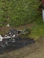 5 oktober Scooter brand volledig uit Jozef Oreliosingel Schiedam