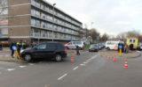 30 november Aanrijding tussen twee auto's Parkweg Schiedam