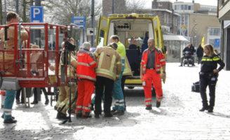 6 maart Traumahelikopter en brandweer opgeroepen voor medische noodsituatie Broersvest Schiedam