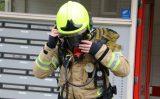 24 april Kinderwagen in brand in flat Schuttersveld Schiedam
