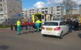 27 april Hulpverleners krijgen weinig ruimte bij ongeval Joop den Uyllaan Schiedam